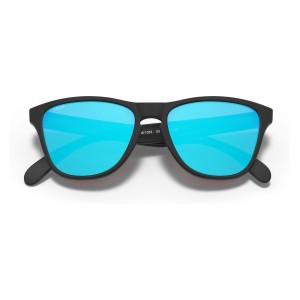 Frogskins XS (Youth Fit) Valentino Rossi Polished Black   PRIZM Sapphire   9006-13