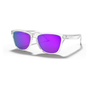 Frogskins XS (Youth Fit) Polished Clear | PRIZM Violet | 9006-14