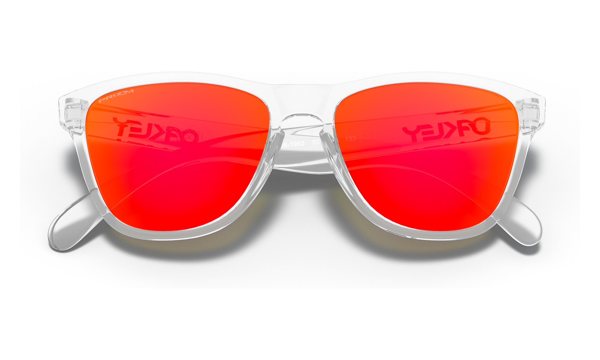 Frogskins XS (Youth Fit) Polished Clear | PRIZM Ruby | 9006-19