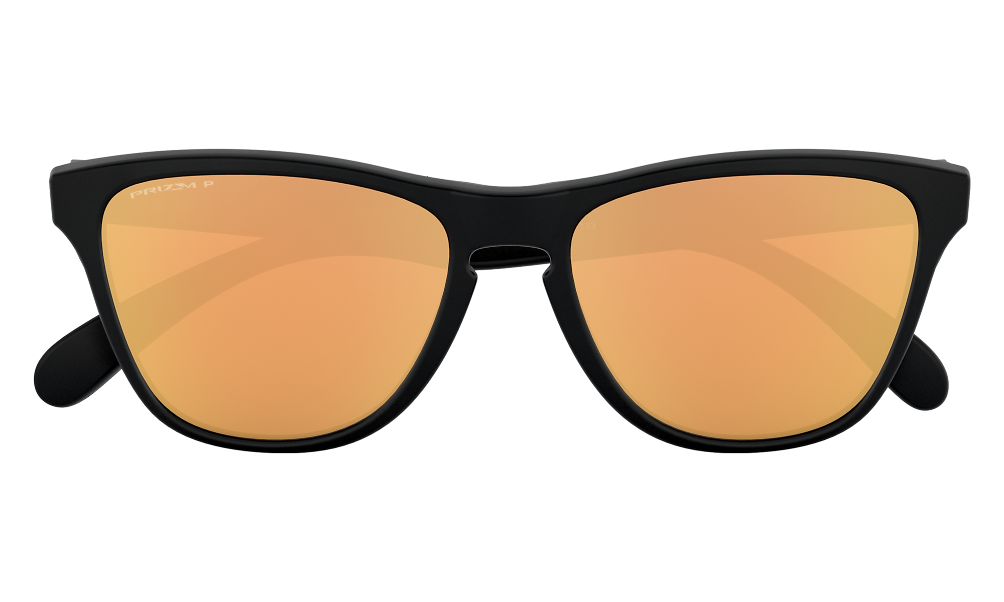 Frogskins XS (Youth Fit) Matte Black | PRIZM Rose Gold Polarized | 9006-21