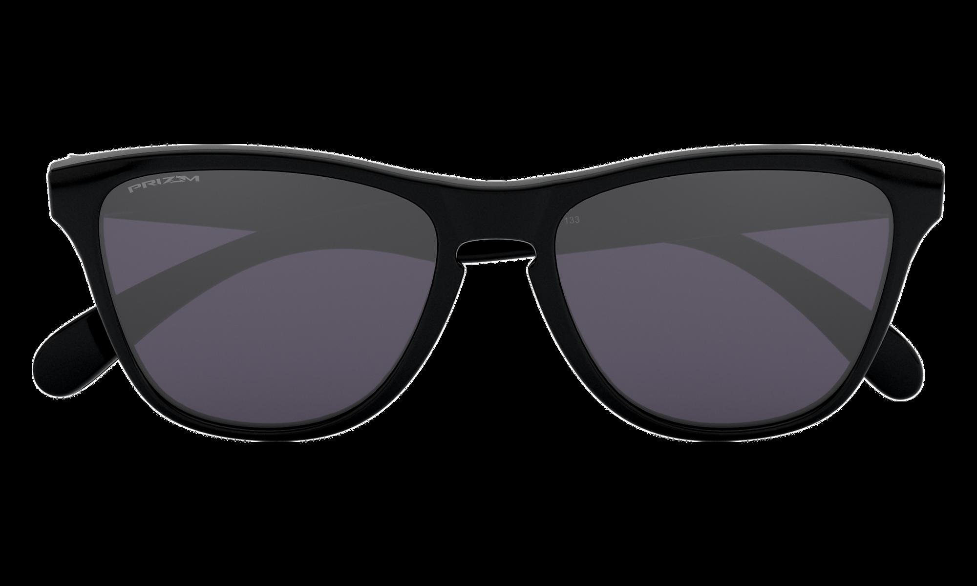 Frogskins XS (Youth Fit) Polished Black | PRIZM Grey | 9006-22